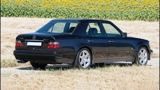 1995 Mercedes-Benz E60 AMG w124 with a 6.0-liter M119 V8 engine