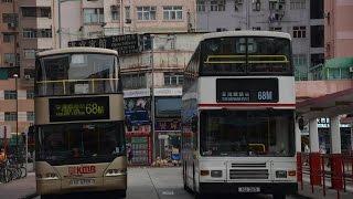 Hong Kong Bus KMB AV258@68M九龍巴士 Volvo Olympian 元朗(西)總站-荃灣鐵路站總站