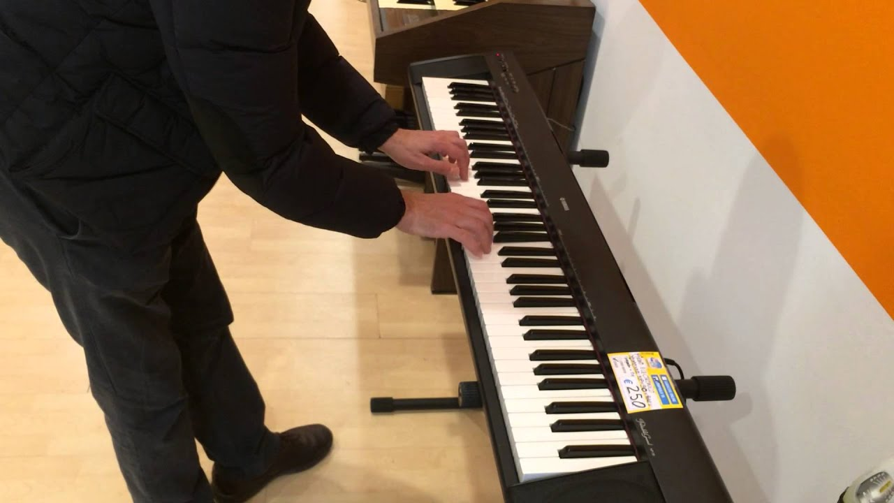 demo yamaha np 30 sonido grand piano youtube. Black Bedroom Furniture Sets. Home Design Ideas