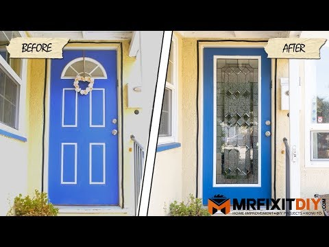 Adding Glass to Your Front Door - A DIY Guide