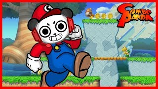 Super Mario Wii U SPEED RUN Let's Play with Combo Panda