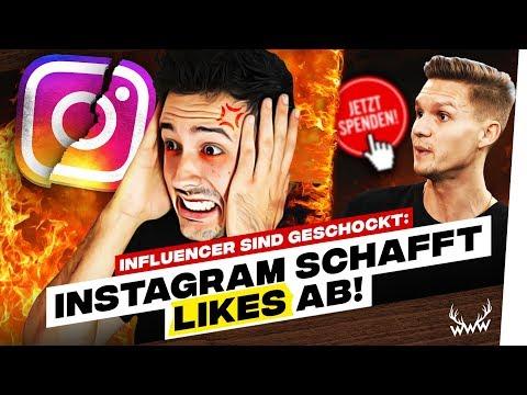 Instagram schafft Likes ab! • SPENDEN für KsFreak & Krappi! | #WWW