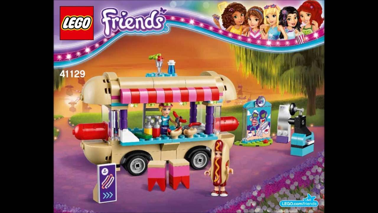 Friends Amusement Park Hot Dog Van