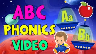 ABC Phonics | Alphabet Song | Baby First Words + kids learning videos