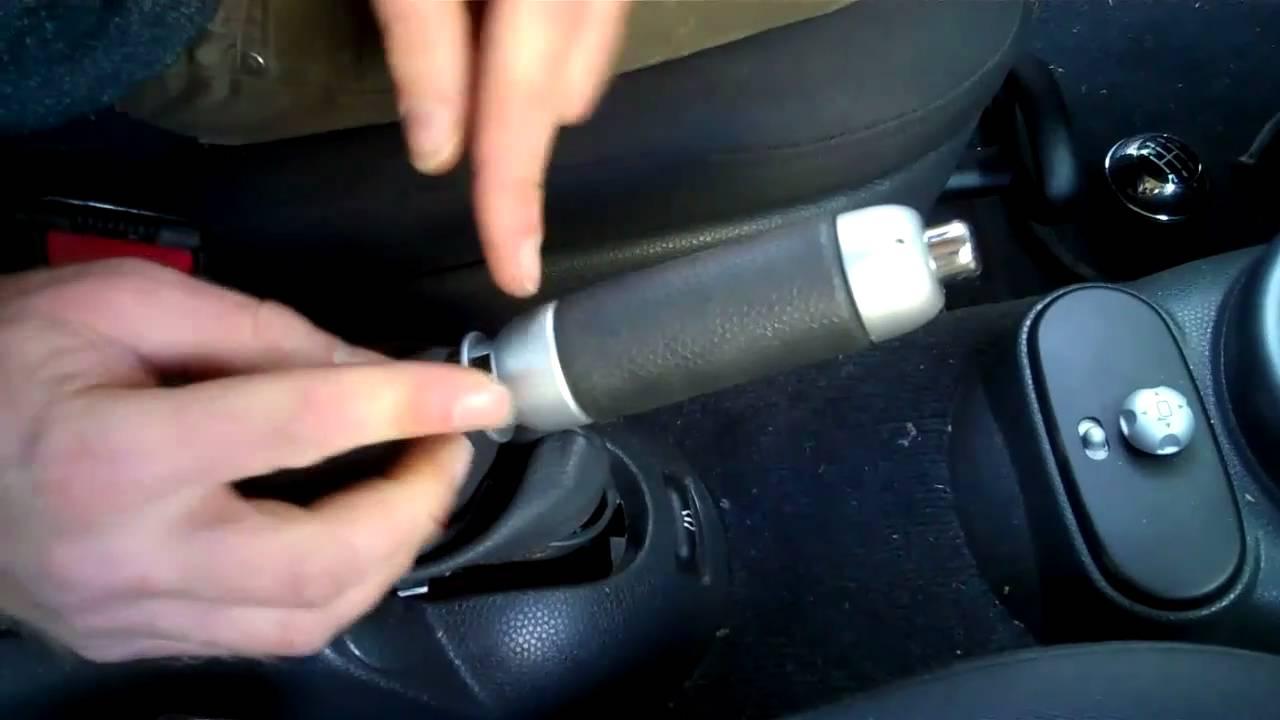 mini cooper dash pad removal