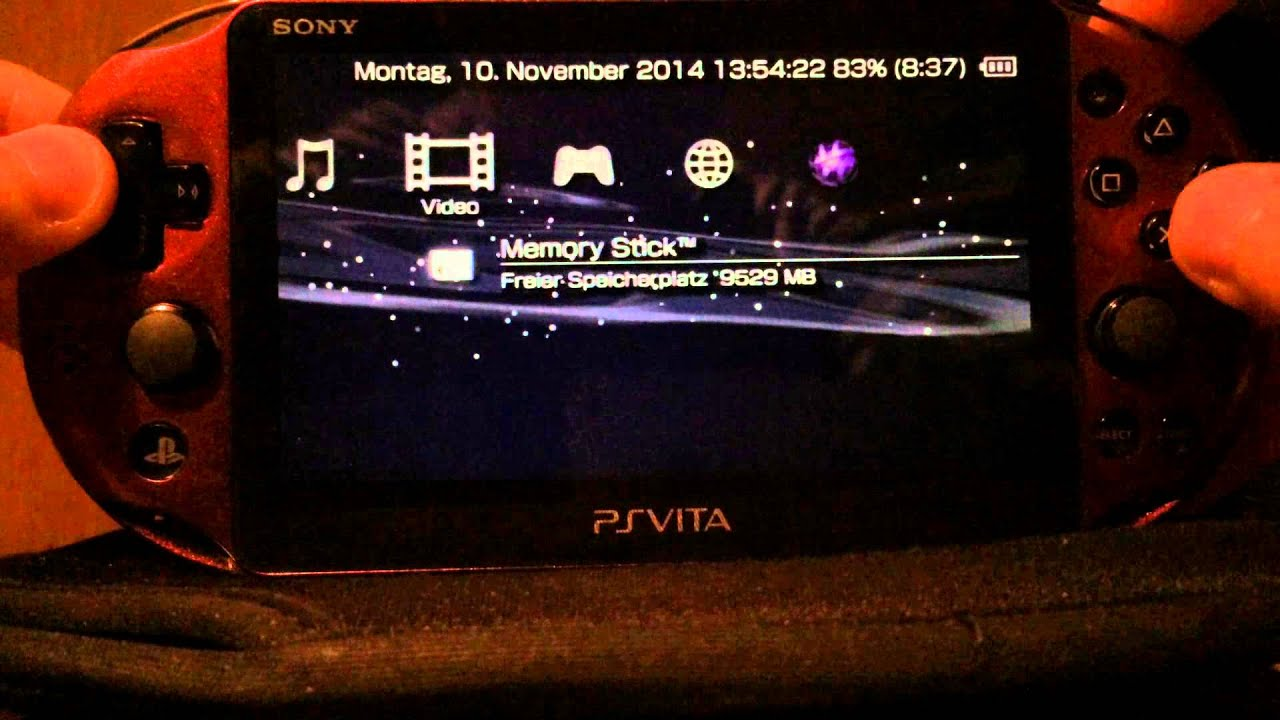 PS Vita HENkaku. Установка ADRENALINE от TheFloW, запуск PSP игр .