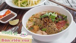 Bún riêu cua Rosa - Hương vị làng quê Việt Nam