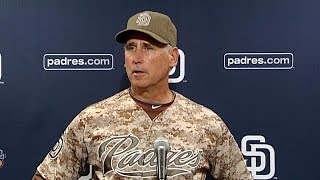 CHC@SD: Bud Black on Carlos Quentin