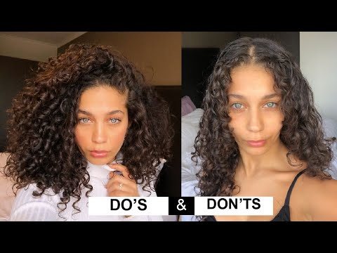 STYLING CURLY HAIR DO'S & DON'TS for volume and definition | Jayme Jo - YouTube