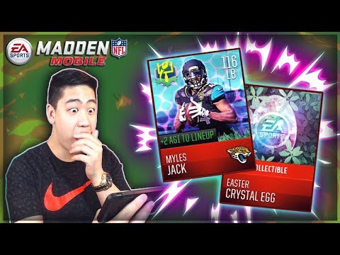 Madden Mobile 18 EASTER PROMO IS HERE!! 116 OVR EASTER MASTERS!!