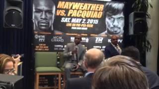 Floyd Mayweather: Winning is always in my mind