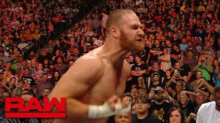 Sami Zayn goes berserk after King of the Ring loss: Raw Exclusive, Aug. 19, 2019
