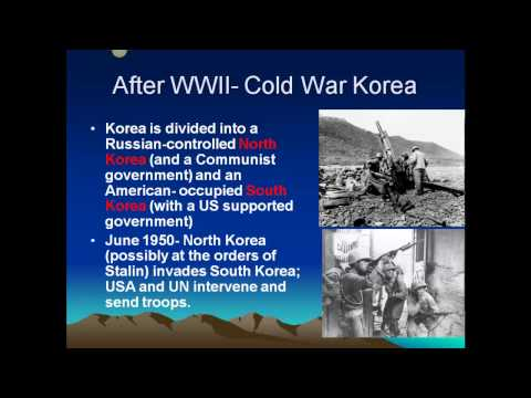 Korea: Brief History and Overview