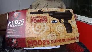 розпакування пістолета HATSAN MOD 25 Super Tact .( Частина 1)