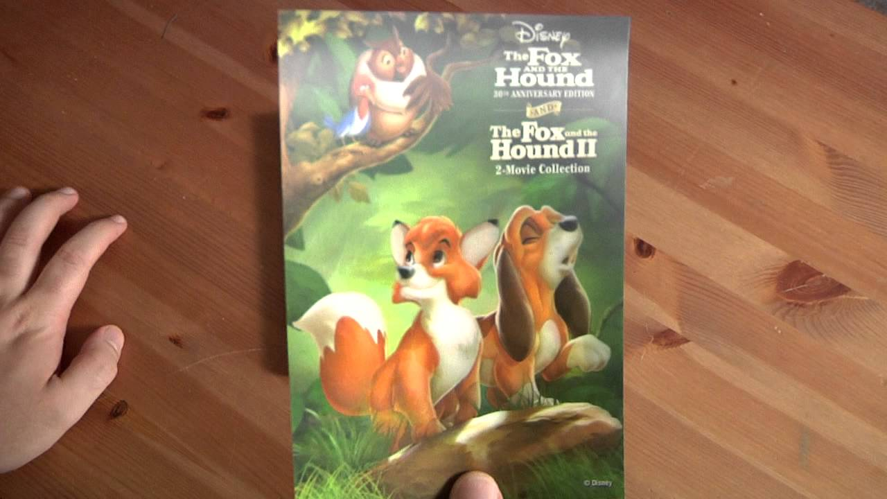 file91e unboxes the fox and the hound 2 movie blu ray dvd