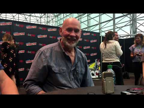 An  with XFiles' Mitch Pileggi