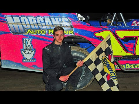 Dayton Brewer FIRST MODIFIED WIN | Woodhull Raceway | 6-16-18