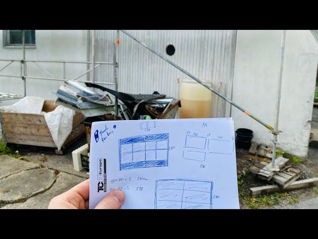How 'I'm Making a Sliding Door - Part1 VLog137