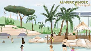 Almere Jungle wil fors uitbreiden op nieuwe locatie met buitenzwembad