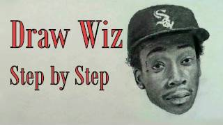 How to Draw Wiz Khalifa Step by Step