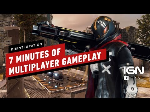 Disintegration: 7 Minutes of Control Mode Multiplayer Gameplay - IGN First