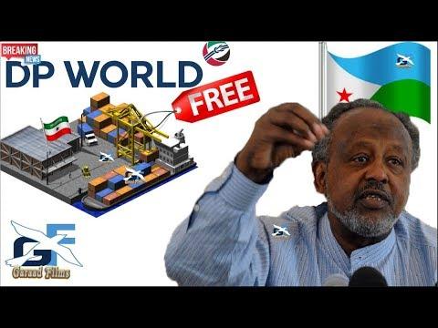 DEG DEG Jabuuti o uso jawaabtay somaliland Hadii DP World aad Janadi u maleysan wa idin deyne Daawo