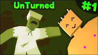 Unturned: Multiplayer Gameplay - Part 1 - FIRST IMPRESSIONS (Funny Moments)
