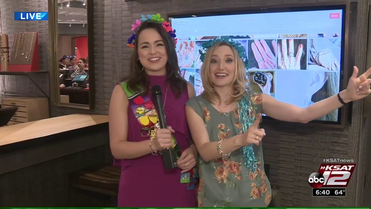 KSAT 12 Weather Authority Fiesta Medal Giveaway with Kaiti & Sarah: James  Avery Discovery Center