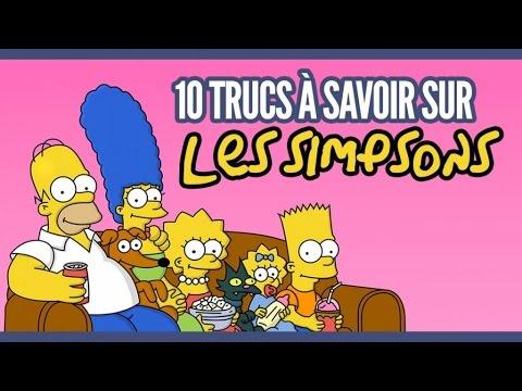 Top 10 des trucs que vous ne saviez pas sur les Simpsons