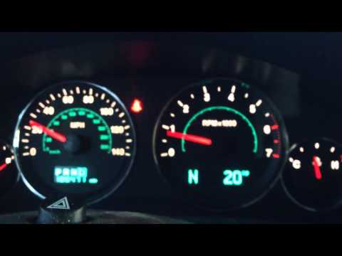 2006 Jeep Commander Limited. 4x4. 5.7l Dash Lights/gauges Issue (not My Jeep, But A Friends)