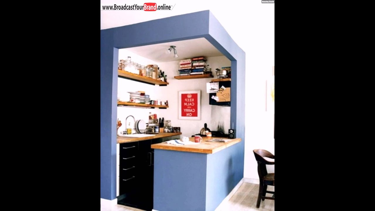 kreative ideen f r kleine k che kasten blau youtube. Black Bedroom Furniture Sets. Home Design Ideas