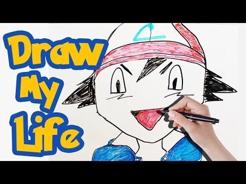 Draw My Life - Ash Ketchum