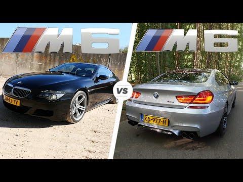 BMW M6 2017 V8 F12 vs BMW M6 2007 V10 E63 ACCELERATION TOP SPEED POV Drive & Exhaust SOUND