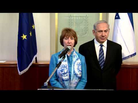PM Netanyahu Meets with Catherine Ashton