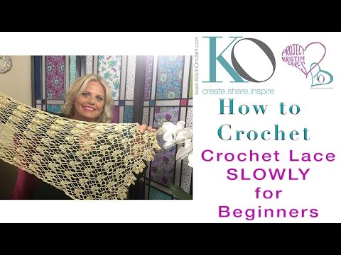 Slow Crochet Lace Slowly For Beginners Sunny Isles Crochet Lace
