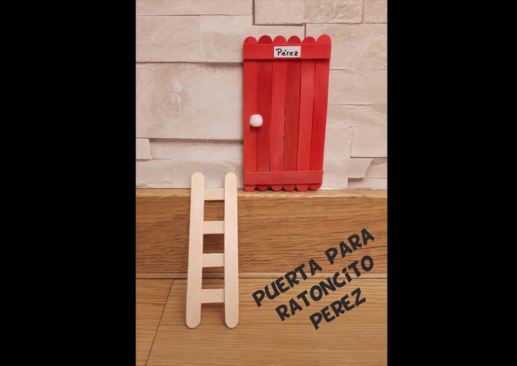 Puerta para ratoncito perez youtube for Puerta raton perez