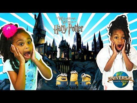 The WIZARDING WORLD of HARRY POTTER & Minions! - Universal Studios Family Fun Trip