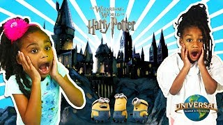 The WIZARDING WORLD of HARRY POTTER & Minions! - Universal Studios Family Fun Trip