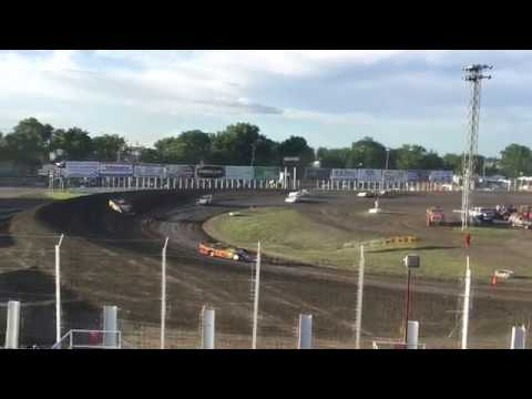 July 5 River Cities Speedway Late model Heat 2