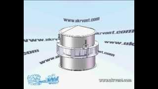 видео Вентиляторы крышные, ВКР крышный вентилятор дымоудаления,  вентилятор на крышу ВКР-В взрывозащищенный, осевые и центробежные вентиляторы крышные (дымосос)