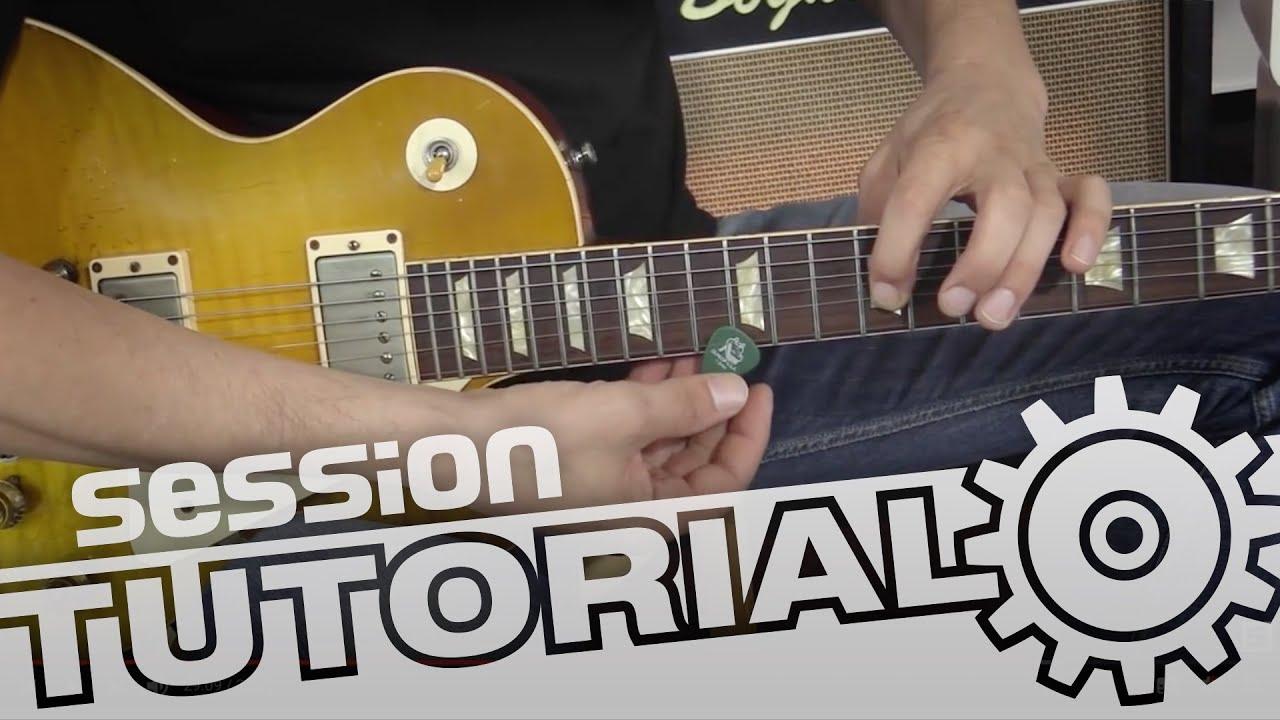 session Tutorial: E-Gitarre einstellen für optimale Halskrümmung und ...