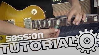 session Tutorial: E-Gitarre einstellen für optimale Halskrümmung und Saitenlage