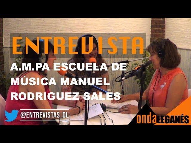 ENTREVISTA al A.M.P.A de la Escuela de Música Manuel Rodríguez Sales