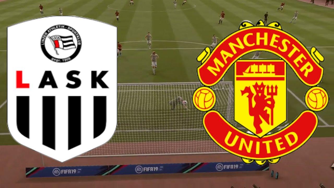 LASK Linz vs Manchester United 2020 | UEFA Europa League | Full Match & Gameplay