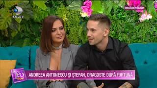 Teo Show (23.01.2020) - Andreea Antonescu si Stefan, dragoste dupa furtuna!
