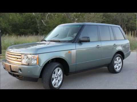 urgently for sale 2004 land rover range rover hse low price youtube. Black Bedroom Furniture Sets. Home Design Ideas