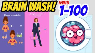 Brain Wash Levels 1 - 100 Gameplay Walkthrough | By Say Games | (IOS - Android)