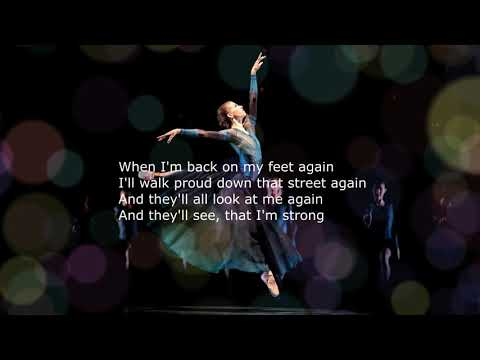 Michael Bolton - When I'm Back on My Feet Again (lyrics)