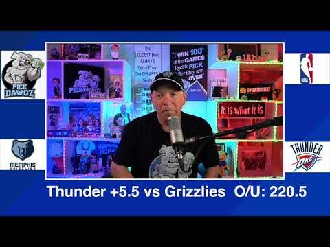 Oklahoma City Thunder vs Memphis Grizzlies 3/14/21 Free NBA Pick and Prediction NBA Betting Tips