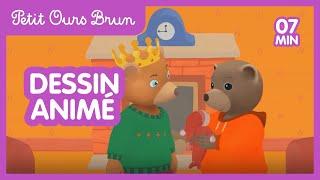 Petit Ours Brun 3D -  La galette des rois